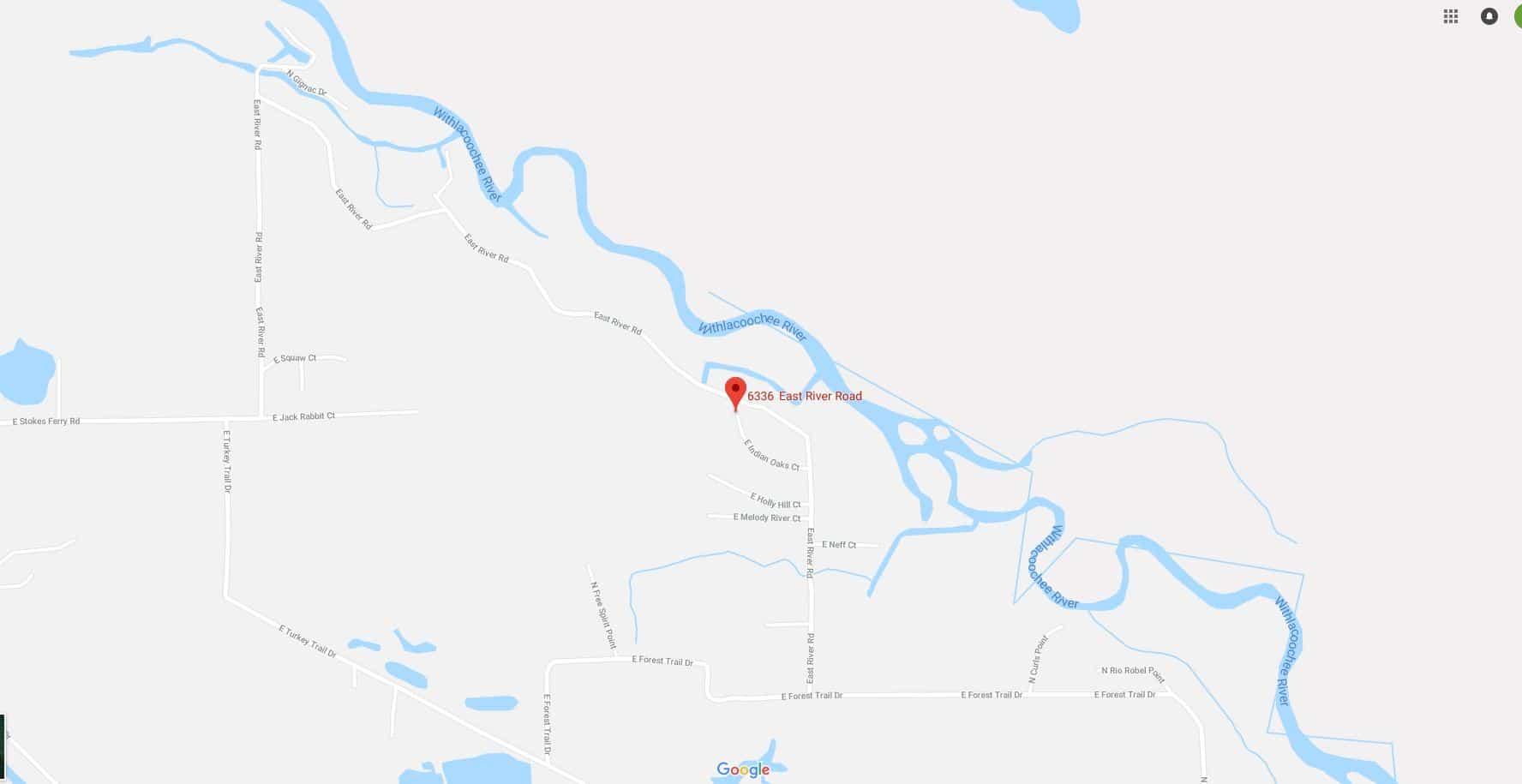 Hernando Florida Map.6336 E River Rd Hernando Florida Terrenos Na Florida