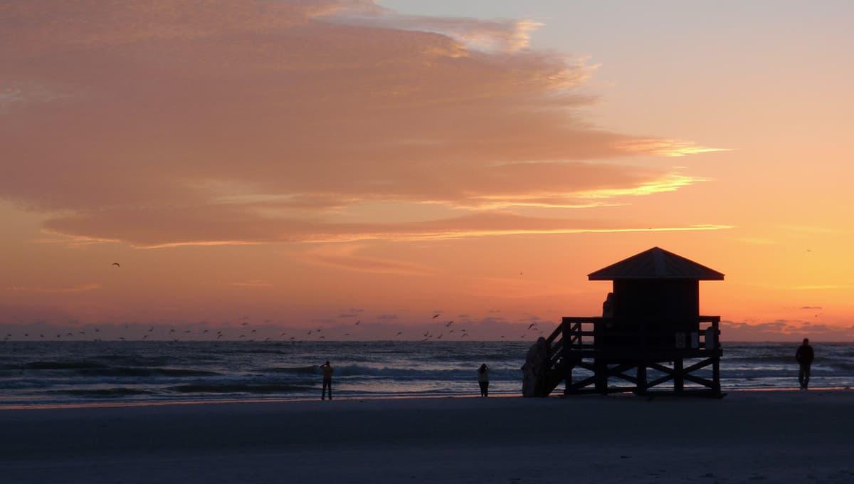 Siesta_Keys_beach_sunset_with_a_flock_of_birds_flying_terrenosnaflorida-com_shutterstock_61359265_1200x680